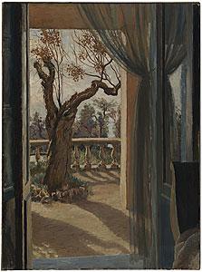 Stella Bowen. La terrasse (1931)