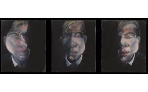 Three studies for a self-portrait (1979-1980)