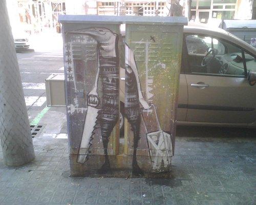 Visto en la calle Villarroel